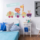 Parkins Interiors Personalised Animal Train Wall Stickers