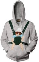 Ripple Junction The Hangover Baby Carrier Men's Pullover Hooded Sweatshirt