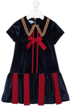 Mi Mi Sol Bow Detail Dress