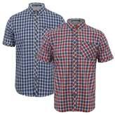 Tokyo Laundry Mens Short Sleeve Checked Shirt Kendry