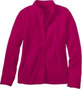 L.L. Bean Bean's Comfort Fleece, Button-Front Jacket