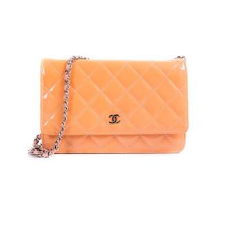 Chanel Wallet on Chain Yellow Patent leather Handbags