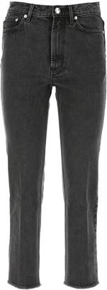 A.P.C. Rudie Cropped Denim Jeans