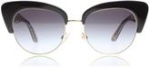 Dolce & Gabbana Sicilian Carretto Sunglasses Black / Gold 30338G 52mm