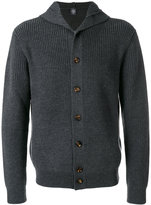 Eleventy buttoned hooded cardigan - men - Virgin Wool - M