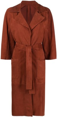 Drome Three-Quarter-Sleeved Trench Coat