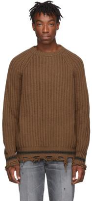 Golden Goose Brown Kunio Sweater