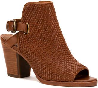 Frye Dani Woven Shield Leather Slingback Sandal