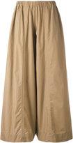 Erika Cavallini - elastic waist trousers - women - Cotton - 44