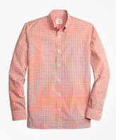 Brooks Brothers Mini-Check Broadcloth Sport Shirt