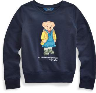 Ralph Lauren Raincoat Bear Terry Pullover
