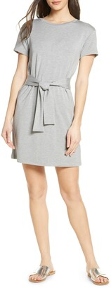 BB Dakota Tie Front T-Shirt Dress