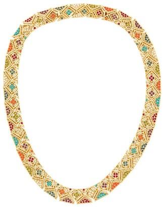 Susan Caplan Vintage 1980s Vintage D'Orlan Colourful Collar
