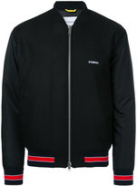 Iceberg Batman print bomber jacket - men - Polyamide/Polyester/Wool - 46