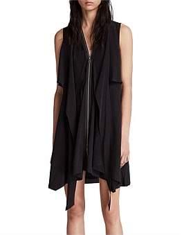 AllSaints Jayda Midi Dress