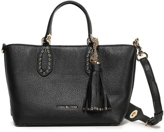 MICHAEL Michael Kors Eyelet-embellished Textured-leather Tote