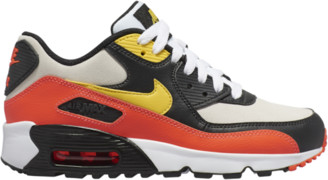Nike 90 Running Shoes - White / Chrome Yellow Black