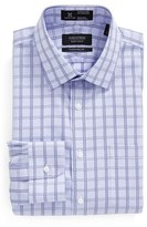 Nordstrom Smartcare TM Wrinkle Free Traditional Fit Check Dress Shirt