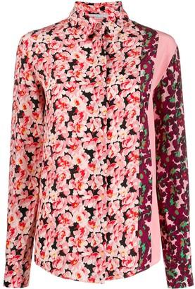 Stella McCartney mixed floral print shirt