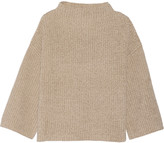 The Row Kaila silk and cotton-blend sweater