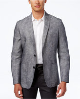 INC International Concepts Men's Slim-Fit Striped Linen Blazer, Created for Macy's