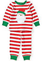 Starting Out Baby Boys 12-24 Months Christmas Santa Face Appliqued Top and Pants Set