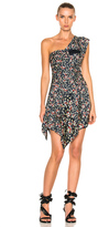 Isabel Marant Ricco Dress in Black,Floral,Red,Yellow.
