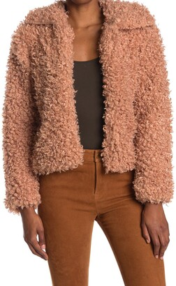 Noize Kelly Faux Fur Jacket