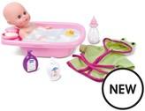 Bambolina 33cm Bambolina Playtime Bath Baby Doll Set
