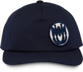 Miu Miu Logo Patch Baseball Cap
