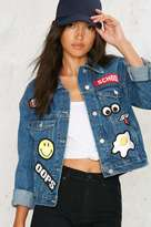 Factory Patch Me If You Can Denim Jacket