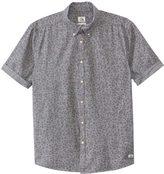Quiksilver Men's Micro Flowar Short Sleeve Shirt 8135266