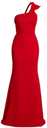 Roland Mouret Gosford Twist One-Shoulder Gown