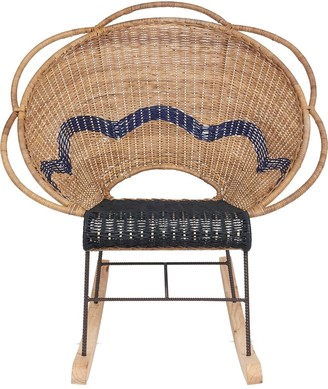 Marni Interiors Virgo woven rocking chair