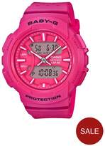 Baby-G Baby G Urban Sports Running Series Black Dial Pink Strap Watch