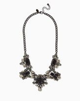Charming charlie Fab Cluster Statement Necklace