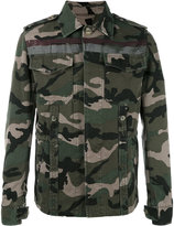 Valentino camouflage denim jacket - men - Cotton - 44