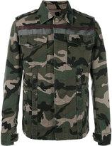 Valentino camouflage denim jacket