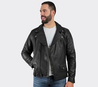 Frye Men's Classic Moto Leather Jacket