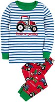 Hatley PJ Set (Toddler/Kid) - Farm Tractors-8