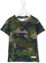Les (Art)Ists Kids - Riri camouflage t-shirt - kids - Cotton - 4 yrs