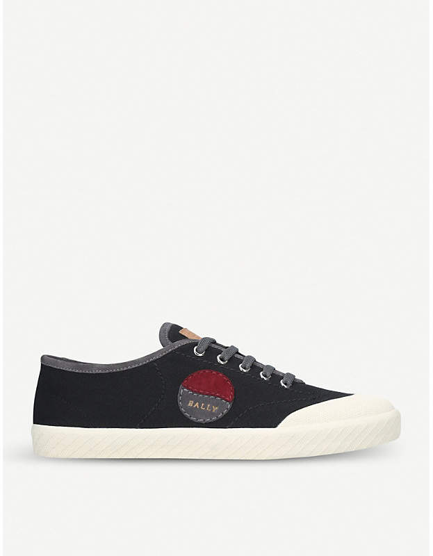Bally Silio canvas low-top trainers