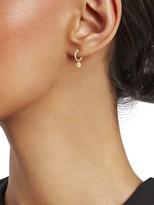 Saks Fifth Avenue 14K Yellow Gold X & O Huggie Earrings