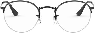 Ray-Ban 51mm Round Optical Glasses