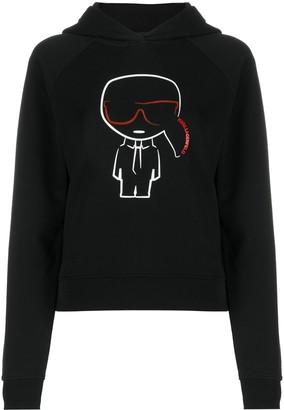 Karl Lagerfeld Paris Ikonik outline hoodie