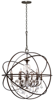Crystorama Solaris 6-Light Chandelier