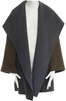 Vince Grey Wool Coat for Women