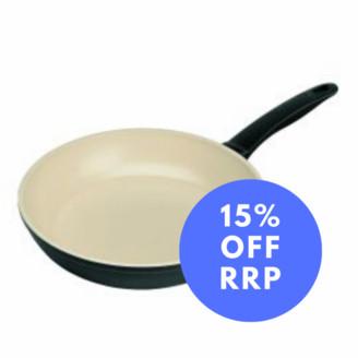 Kuhn Rikon 28cm Ceramic Induction Frying Pan - Black