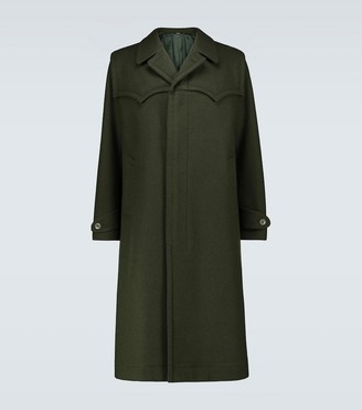 Gucci Oversized wool coat