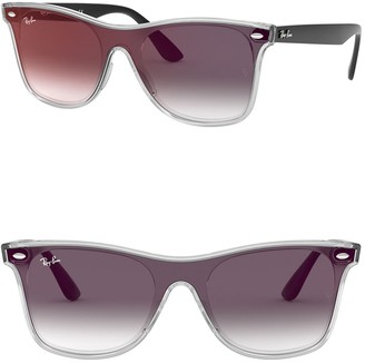 Ray-Ban 141mm Blaze Wayfarer Sunglasses